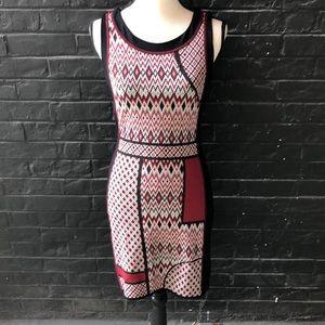 Desigual Printed Sweater Dress